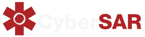 Cybersar logo for dark background